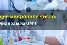 Общее микробное число (ОМЧ)