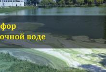 Фосфор в сточной воде