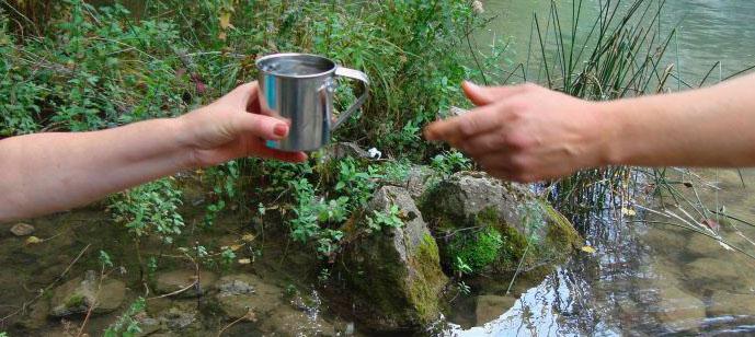 Заказать анализ воды из родников