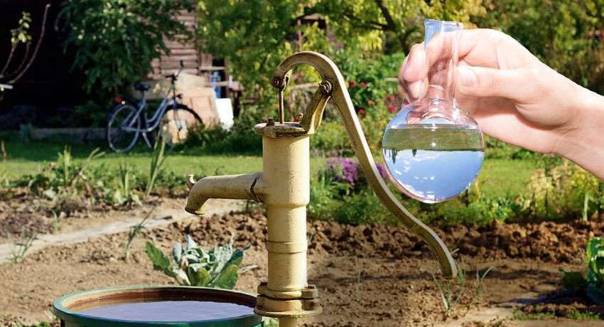 Заказать анализ воды из скважины в Москве