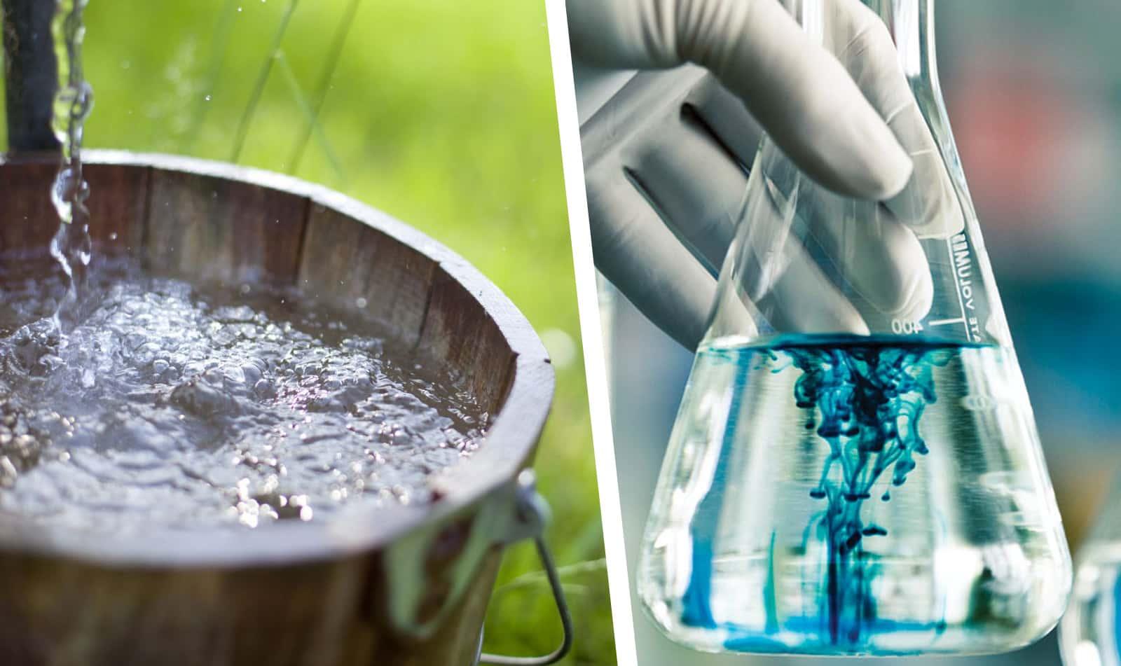 анализ воды колодца
